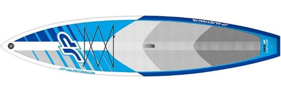 Aufblasbares Surfbrett beim Windsurfing